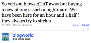 blogworld tweet