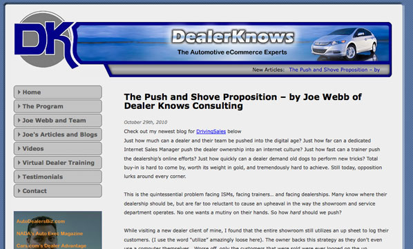 BlogWorld 2010 - DealerKnows