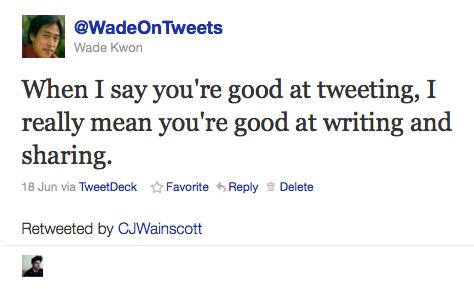 WadeOnTweets