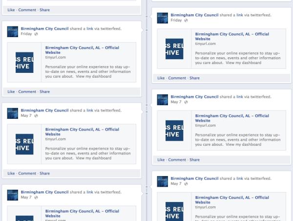 Birmingham city council on Facebook