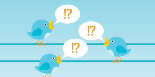 birds tweeting, by opensource.com