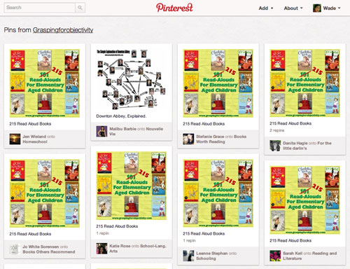 Pinterest Source Page