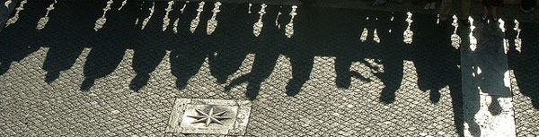 crowd shadow