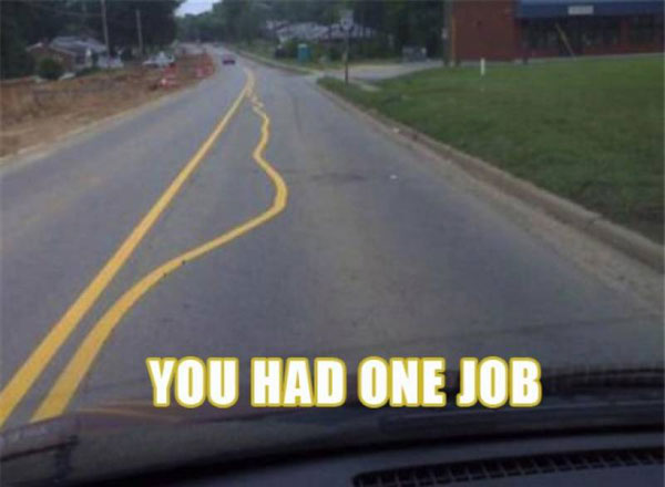 road stripes
