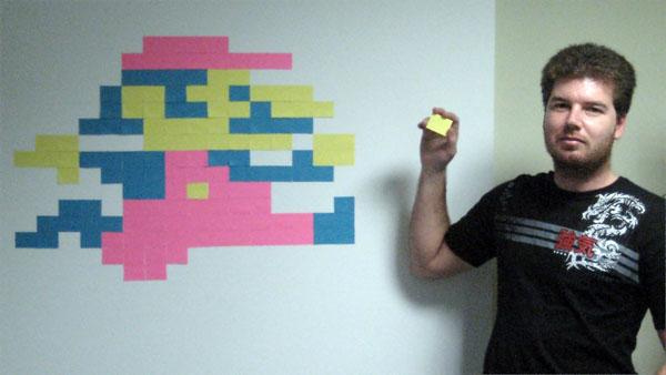 Mario - sticky notes