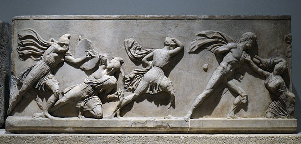 Amazon Greek frieze