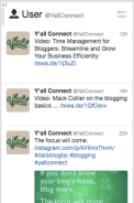 See what tweets your brand has sent, especially if you're part of a team managing an account.